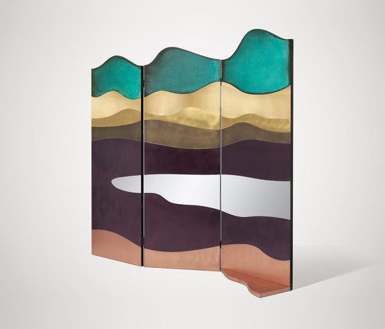 Painting by De Castelli | Folding screens