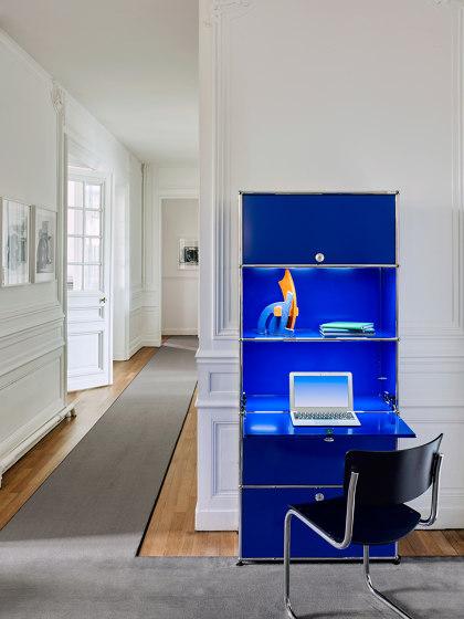 USM Haller E | Gentian Blue by USM | Sideboards