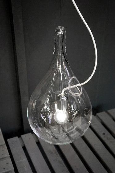 Liquid Light DROP_2 small glass de next | Lámparas de suspensión