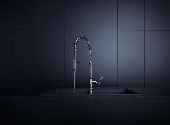 AXOR Montreux Single lever kitchen mixer Semi-Pro by AXOR | Kitchen taps