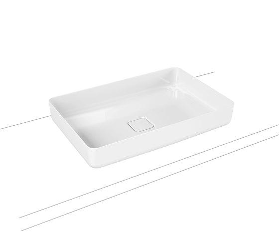 Miena washbowl alpine white (rectangular) by Kaldewei   Wash basins