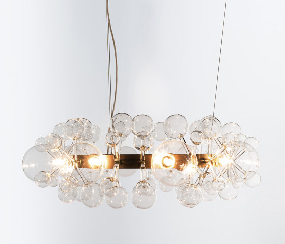 Circle Light by Isabel Hamm Licht | Chandeliers