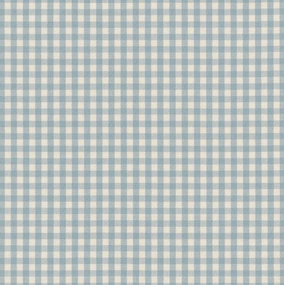 Jota-Check 2.0 - 152 sky by nya nordiska | Drapery fabrics