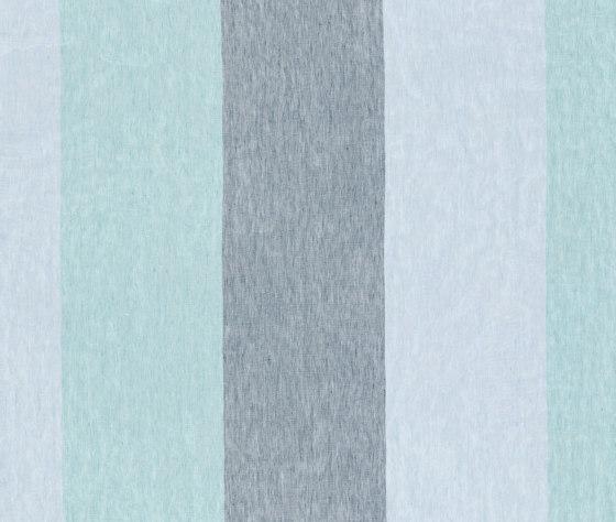Alabama Stripe - 22 aqua by nya nordiska | Drapery fabrics