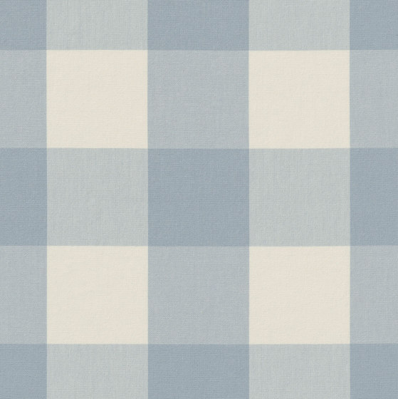 Alpha-Check 2.0 - 352 sky by nya nordiska | Drapery fabrics