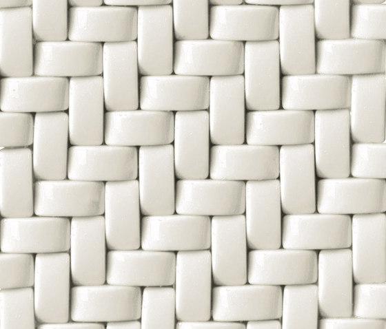 Crono Pulsar | Bianco di Mosaico+ | Mosaici vetro