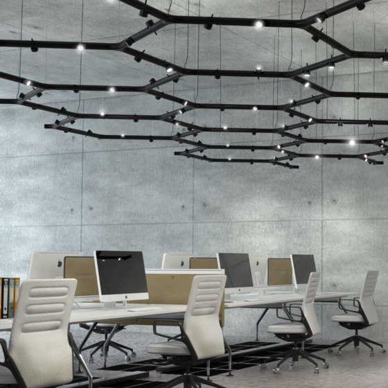 Calabronet by martinelli luce | Suspended lights