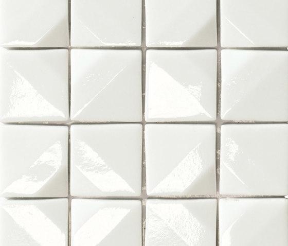 Crono Nova | Bianco di Mosaico+ | Mosaici vetro