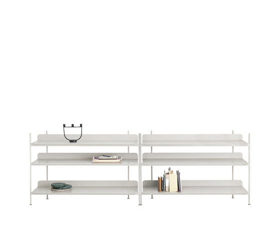 Compile Shelving System   Configuration 6 by Muuto   Shelving