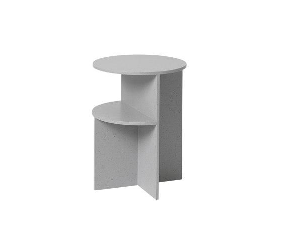 Halves Side Table di Muuto | Tavolini alti