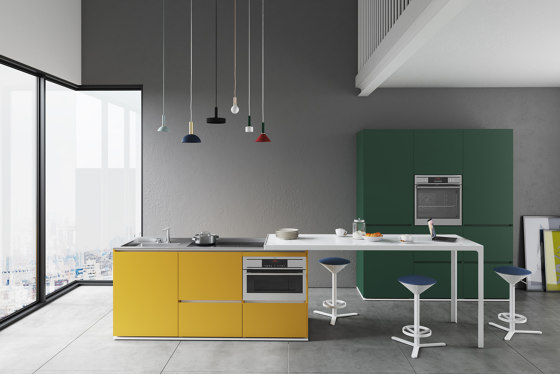 Isola Compact Indoor de Estel Group | Cocinas compactas