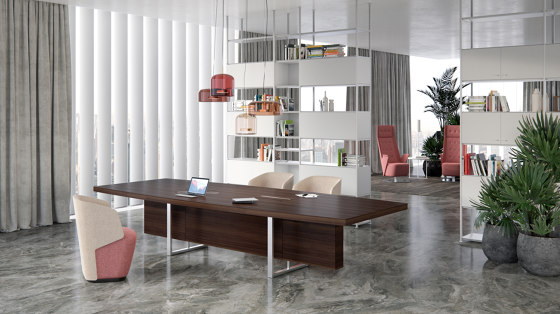 Deck | Executive Desk de Estel Group | Bureaux