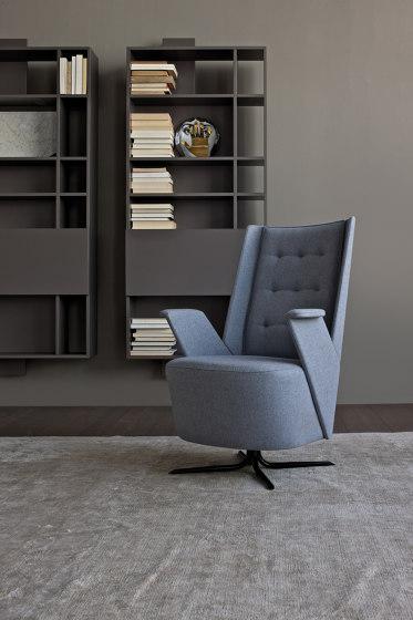Embrasse Grand Relax | Armchair & Pouf de Estel Group | Fauteuils