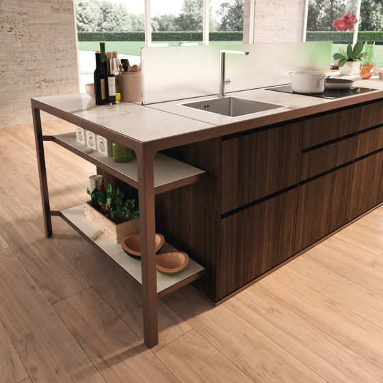 Isola Party by Estel Group | Modular kitchens