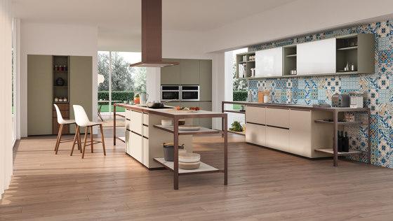 Isola Party di Estel Group | Cucine modulari