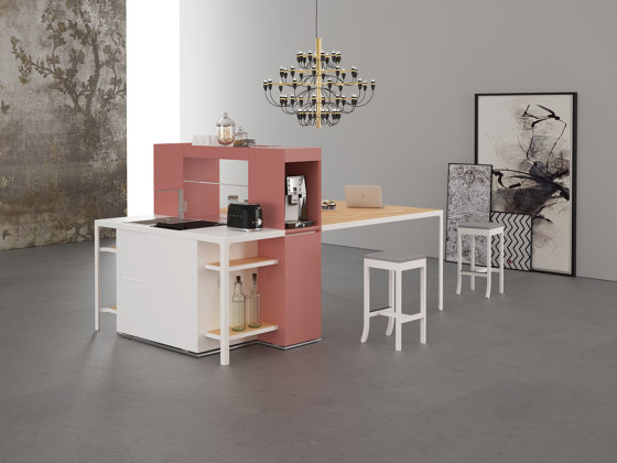 Isola Snack by Estel Group | Multimedia sideboards