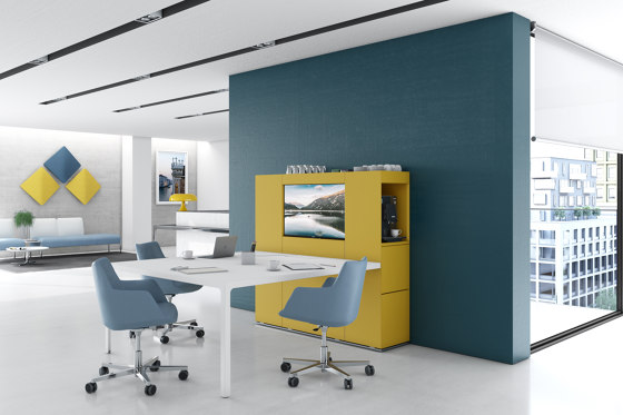 Isola Video by Estel Group | Multimedia sideboards