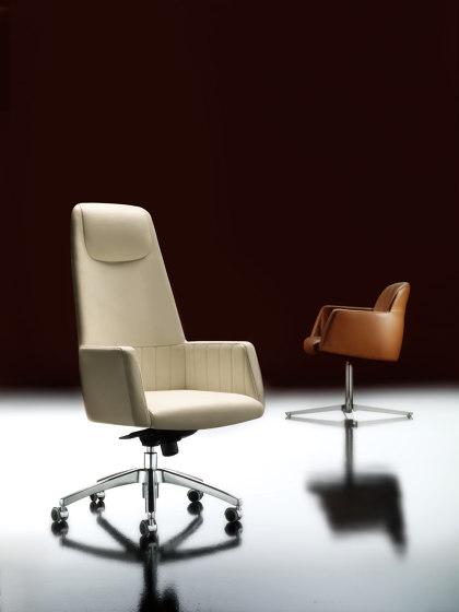 Tulip Sillas ruedas oficina de Estel Group | Sillas de oficina