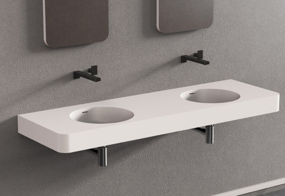 Solidbrio by Ideavit | Wash basins