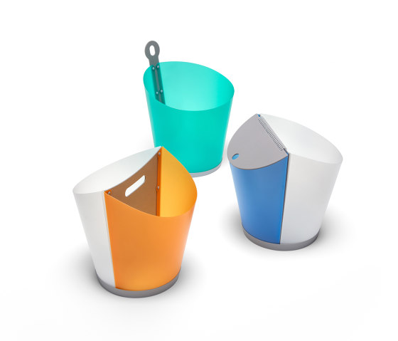 Ginebra   GIN 02 by Made Design   Waste baskets
