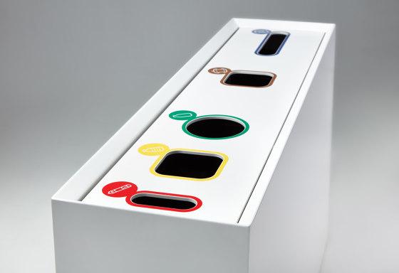 Zell | ZEL 05 by Made Design | Waste baskets