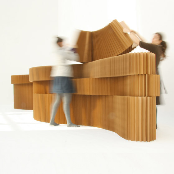 paper softblock by molo | Privacy screen