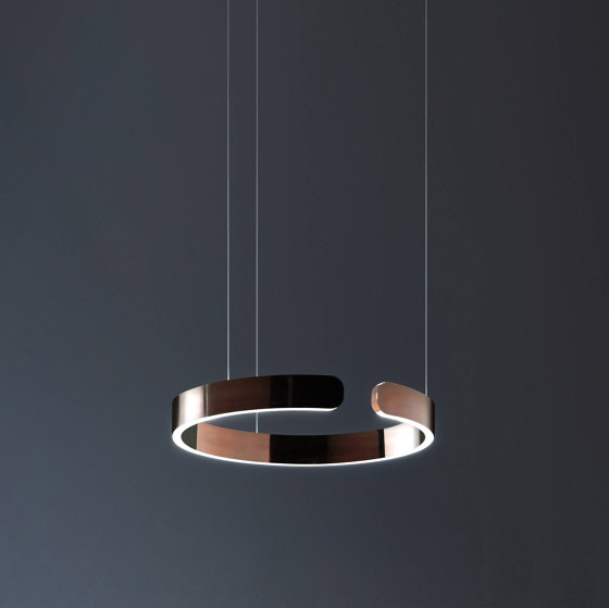 Mito sospeso by Occhio | Suspended lights
