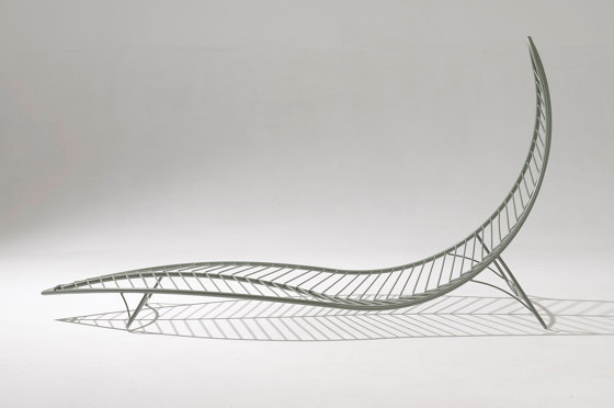 Leaf Chair On Low Base stand by Studio Stirling | Sun loungers