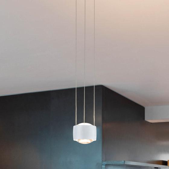Sento sospeso by Occhio | Suspended lights