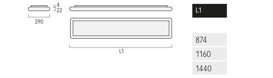 Airtime A3/X3 de Lightnet | Plafonniers