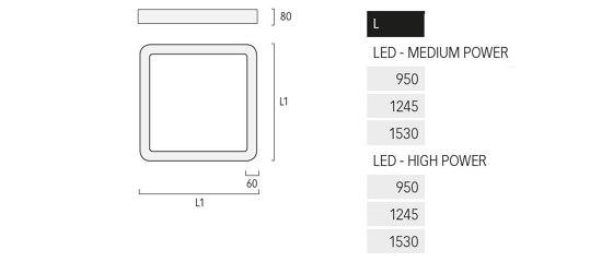 Caleo Inverse A3 de Lightnet | Plafonniers