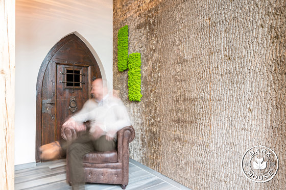Bark House® Poplar Bark Wall Panels di Freund | Pannelli legno