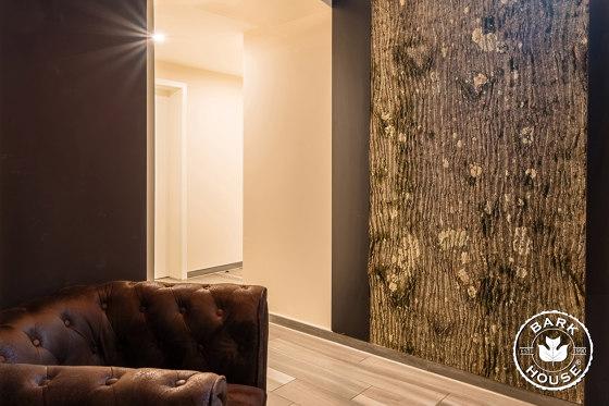 Bark House® Poplar Bark Wall Panels de Freund   Planchas de madera