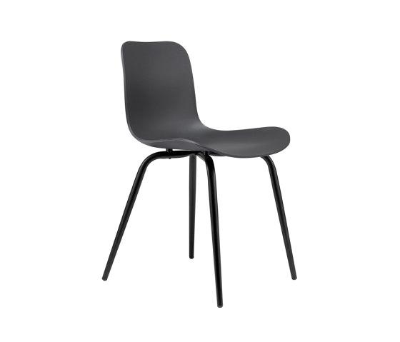 Langue Avantgarde Dining Chair, Black / Anthracite Black de NORR11 | Sillas