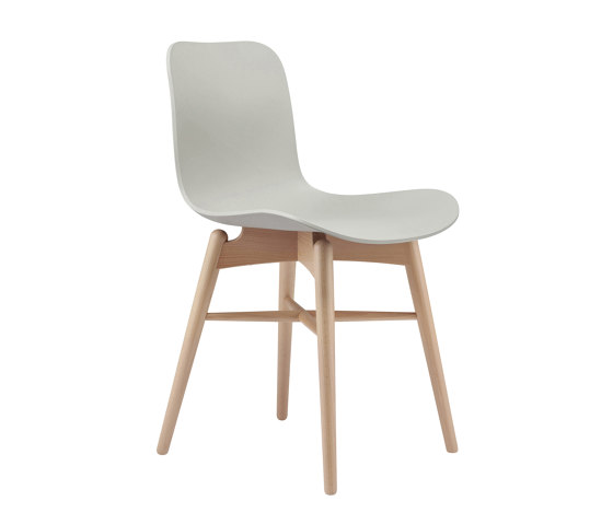 Langue Original Dining Chair, Natural /  Anthracite Black de NORR11 | Sillas