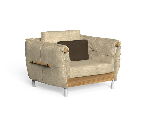 Domino | Living Armchair by Talenti | Armchairs