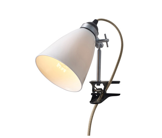 Hector Medium Dome Clip Light, Natural by Original BTC | Special lights