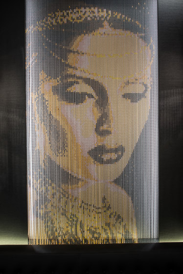 Wallcovering by Kriskadecor | Metal meshes