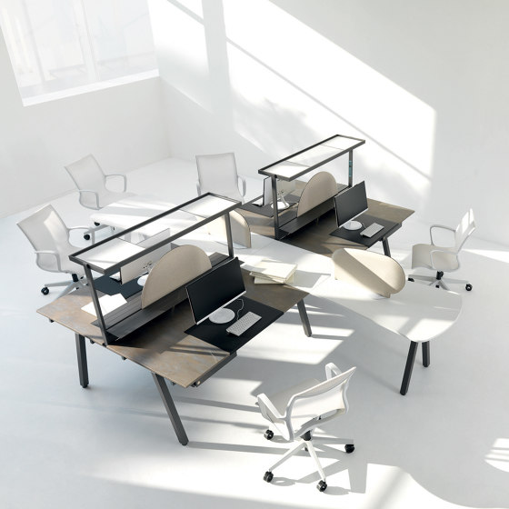 STILO desk de IVM | Escritorios