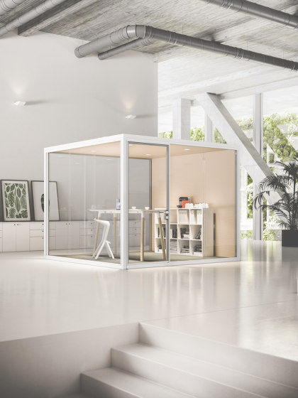 Acoustic Room L by Fantoni   Soundproofing room-in-room systems