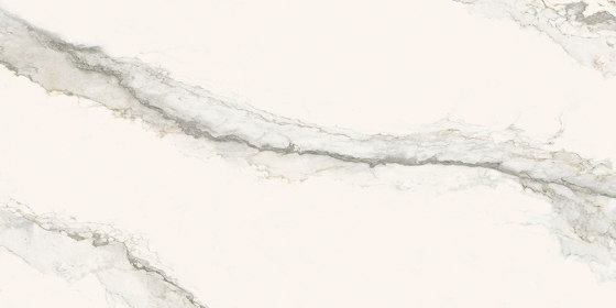 Larsen ITOP Super Blanco-Gris Lucidato Lucido di INALCO | Lastre pietra naturale