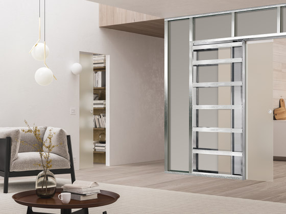 ECLISSE Syntesis® Luce by ECLISSE | Internal doors