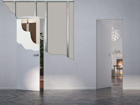 ECLISSE Syntesis® Line Battente Double by ECLISSE | Internal doors