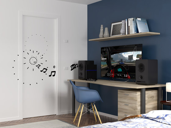 ECLISSE Acoustic by ECLISSE | Internal doors