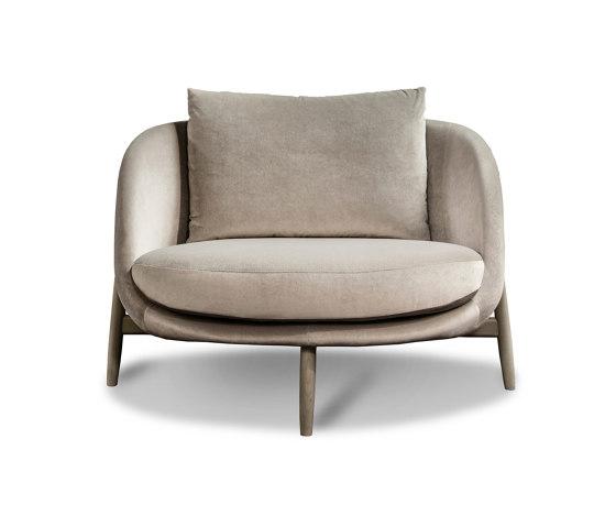 Heath armchair Large by Linteloo   Armchairs