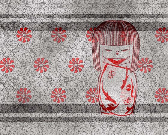 Kokeshi doll de WallPepper | Revêtements muraux / papiers peint
