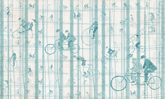 Bicycles by WallPepper | Wall coverings / wallpapers