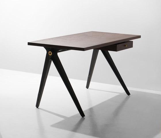 Compass Desk Single Drawer von District Eight | Schreibtische