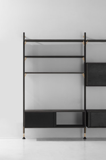 Theo Wall Unit With Cabinet von District Eight | Regale