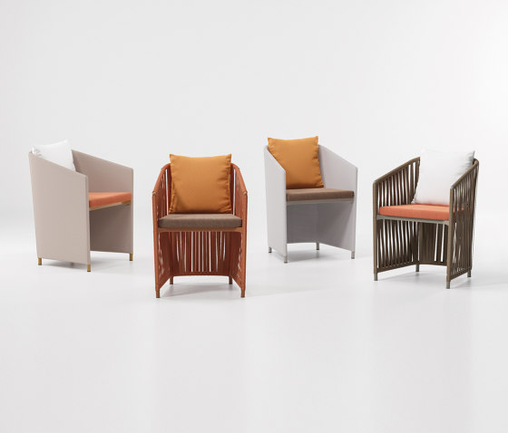 Bitta lounge full dining chair by KETTAL | Chairs